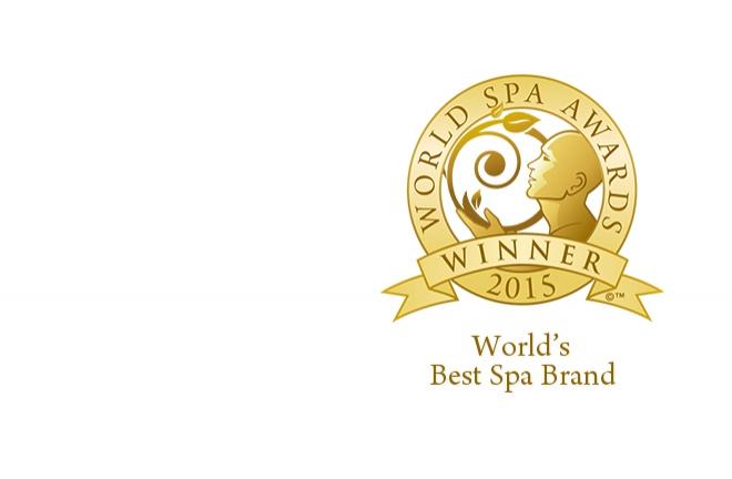 Best Spa Brand by the prestigious World Spa Awards